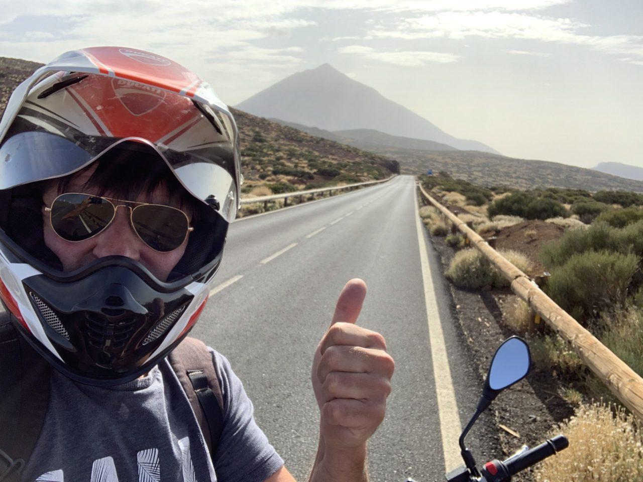 Motorrad Tour auf Teneriffa