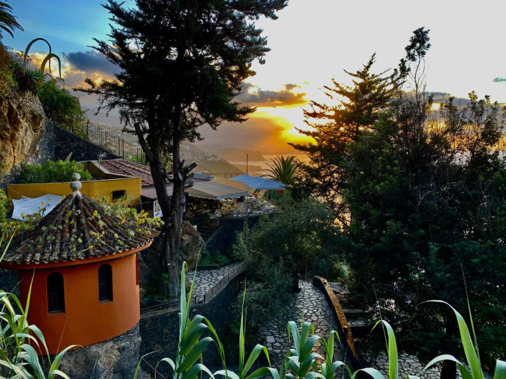 Ausblick im Parque Los Lavaderos El Sauzal; Foto: Roland Strobl